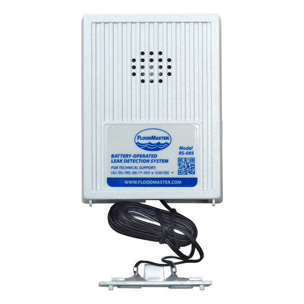 Battery-powered water alarm