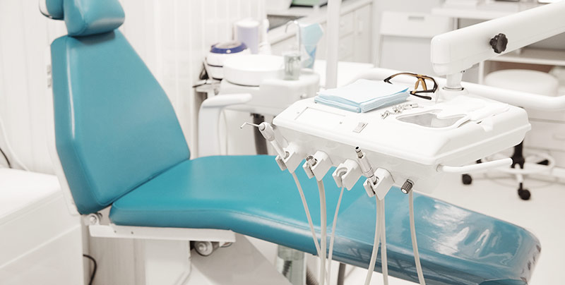Water leak detection for dentist offices