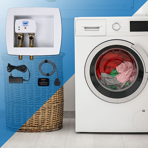 RS-090-E washing machine leak detection and automatic shutoff kit