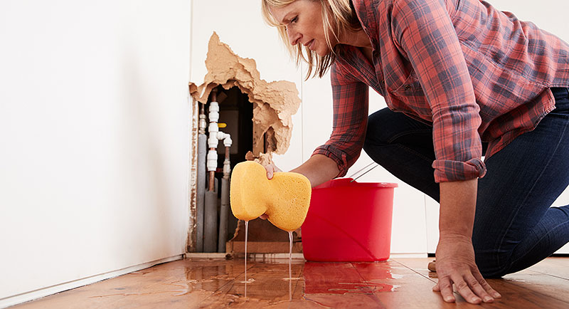 Water leaks are a common cause of homeowner insurance claims